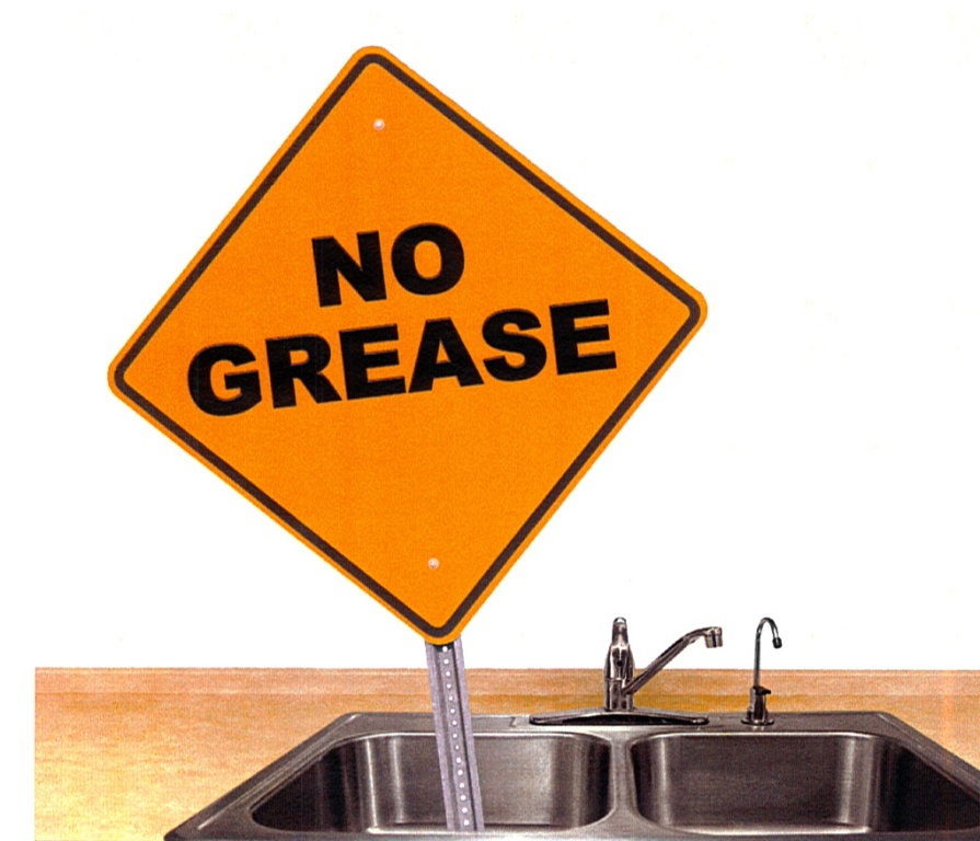 No Grease Sign - large doc
