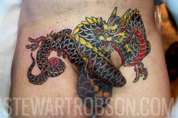 Penis tattoo