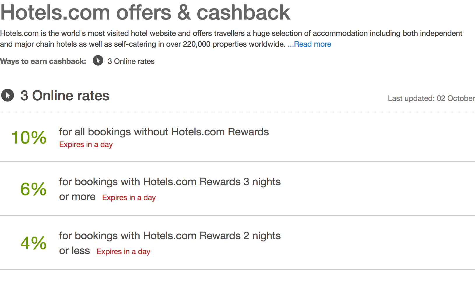 Screenshot-2017-10-7 Hotels com Cashback, Voucher Codes Discount Codes Quidco