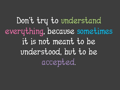Understood-but-to-be-accepted